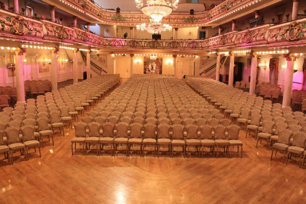 Grand Prospect Hall - Grand Ballroom - Theater Seating