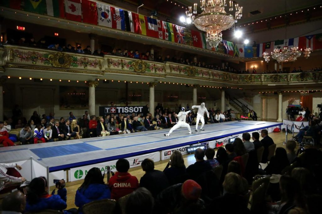 Grand Prospect Hall - Grand Ballroom - Fencing Tournament