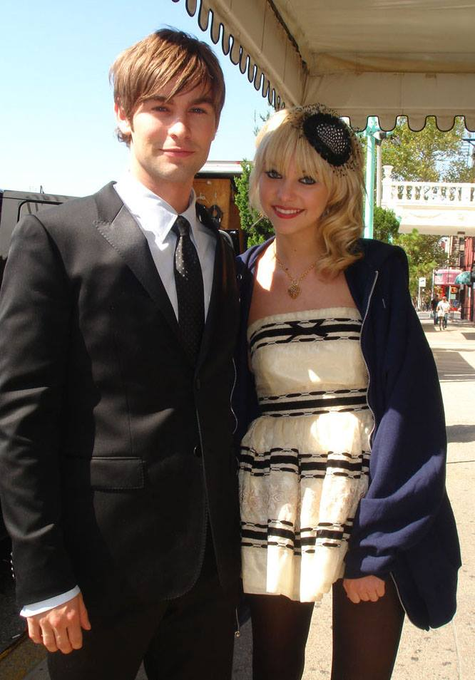 Gossip Girl - Chace Crowford and Taylor Momsen at GPH